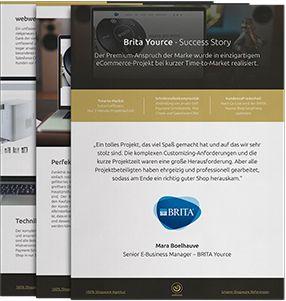 Shopware Referenz: Brita Yource Success Story