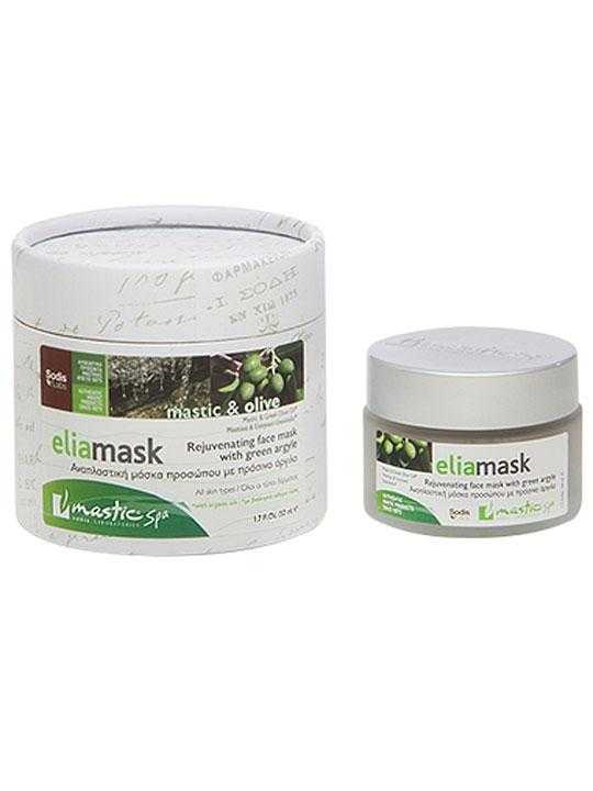 Eliamask face rejuvenation with mastic and olive oil – 50ml