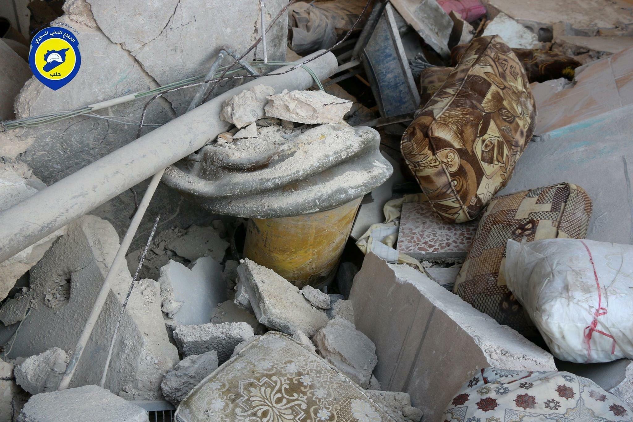 20 November 2016: Al-Sakhour, Aleppo (Source: Syria Civil Defense 2016)