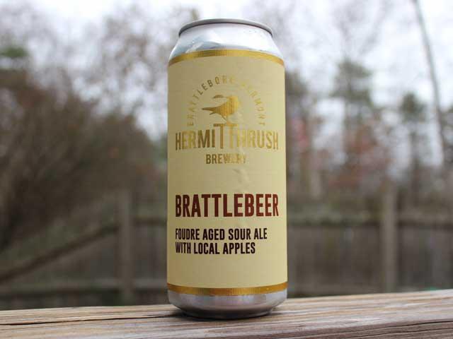 Brattlebeer, a Sour Ale brewed by Hermit Thrush Brewery