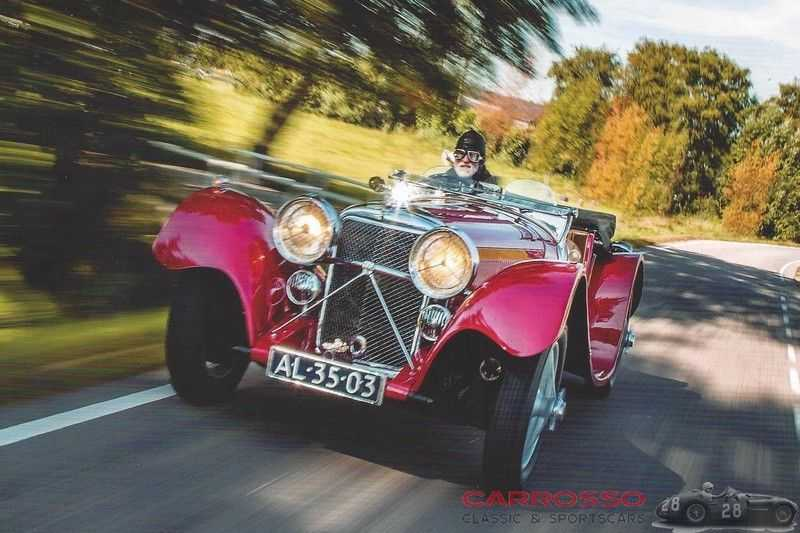 Jaguar SS100 3.5 Roadster / Heritage Trust Certificate / RHD afbeelding 7