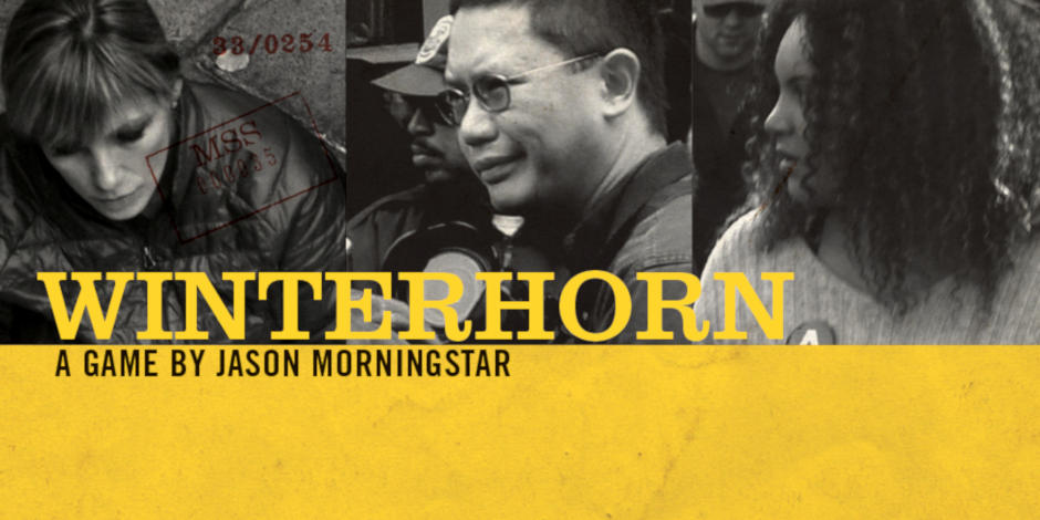 Promobild 'WINTERHORN von Jason Morningstar'