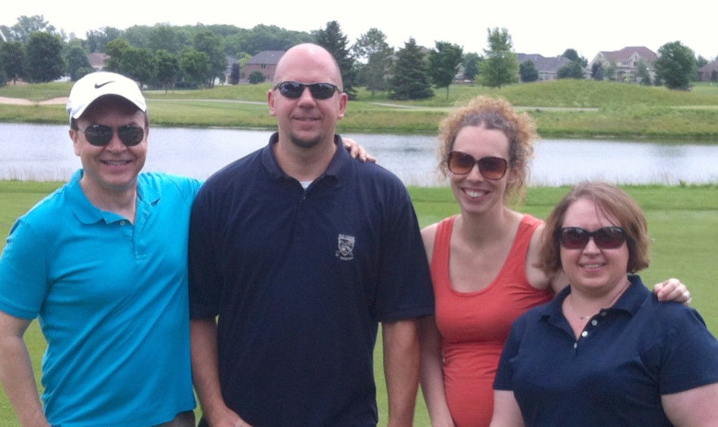 Insight Creative WLUK Fox 11 Golf Outing
