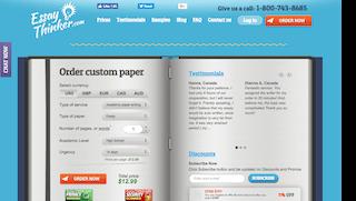 essaythinker.com main page