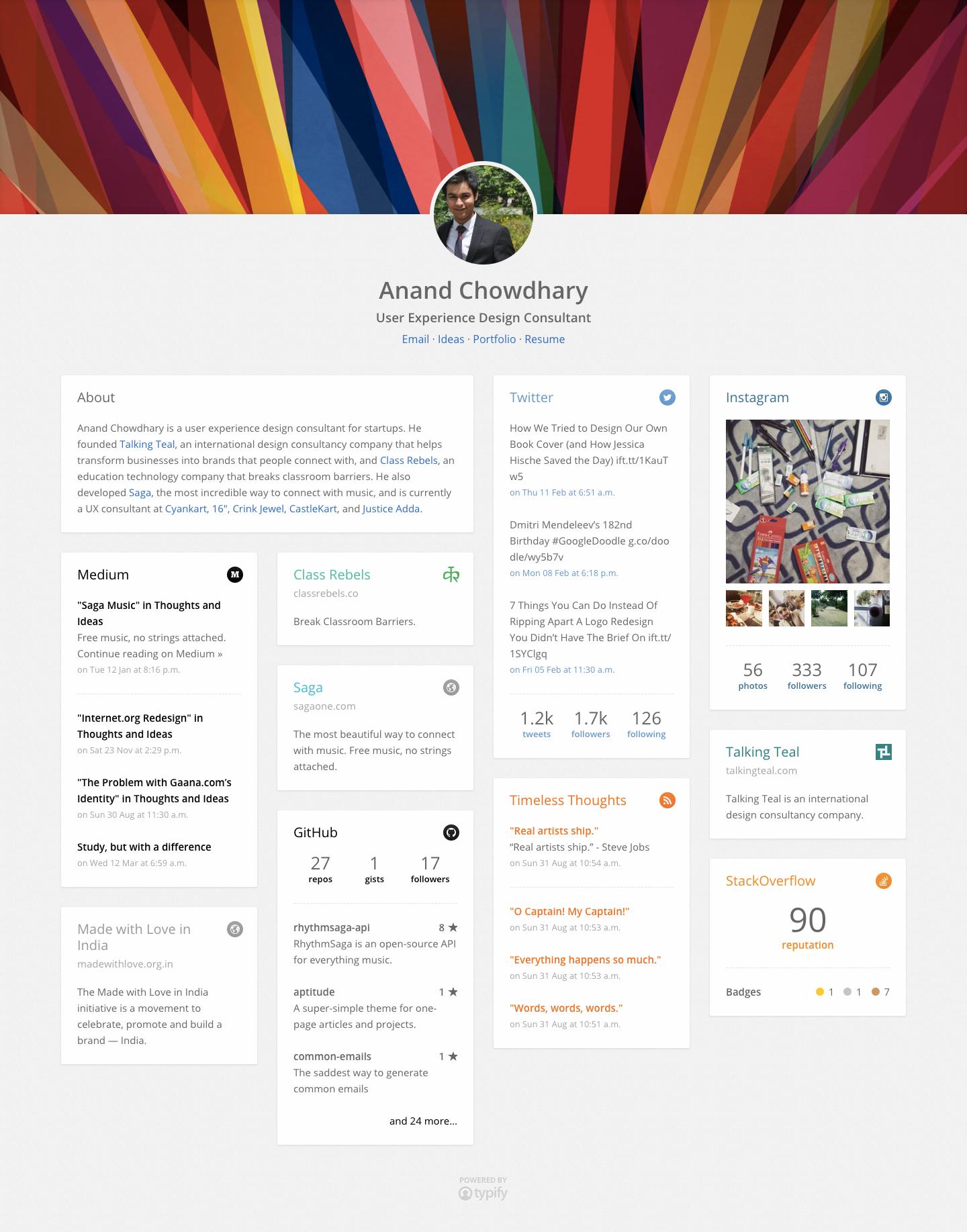 Screenshot of Airbrush homepage