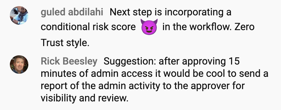 OWASP Audience Comments