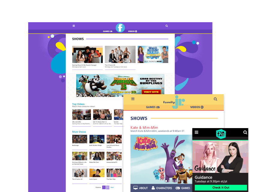 Kids Television Websites