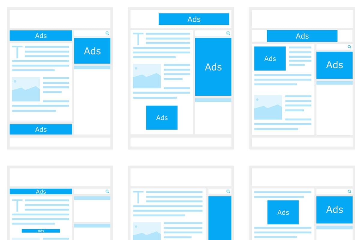 Melhores posições para colocar anúncios no blog