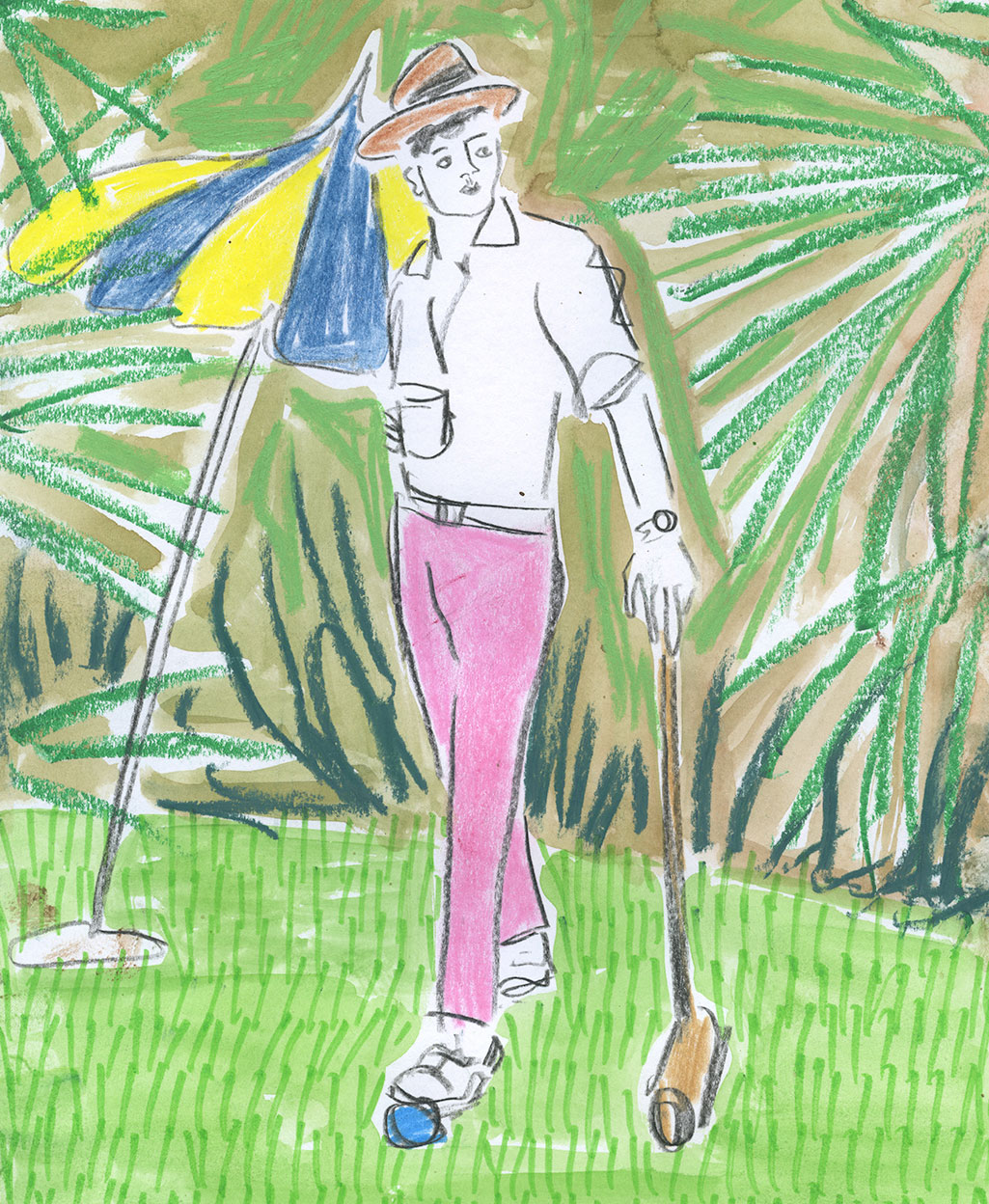 Croquet illustration