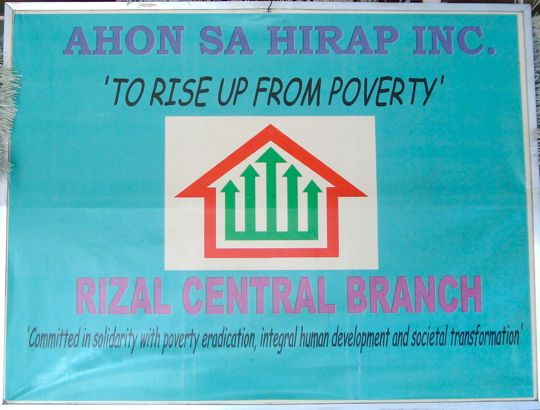 To Rise Up From Poverty