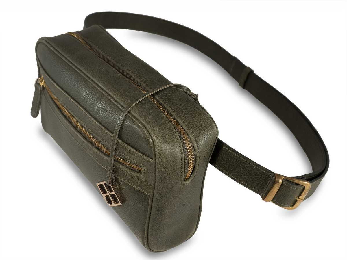 Izar Belt Bag - olive green