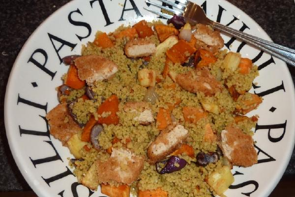 image from Easy vegetarian meal idea – Cous cous and roasted vegetables