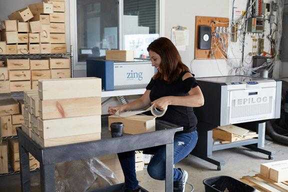 Making custom wine boxes