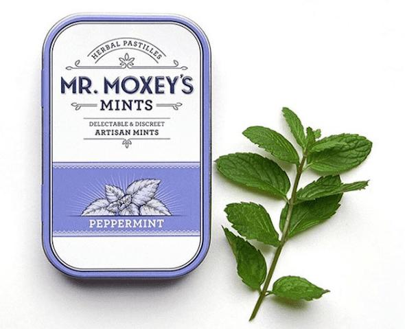 Mr. Moxey's Mints CBD Peppermint mints