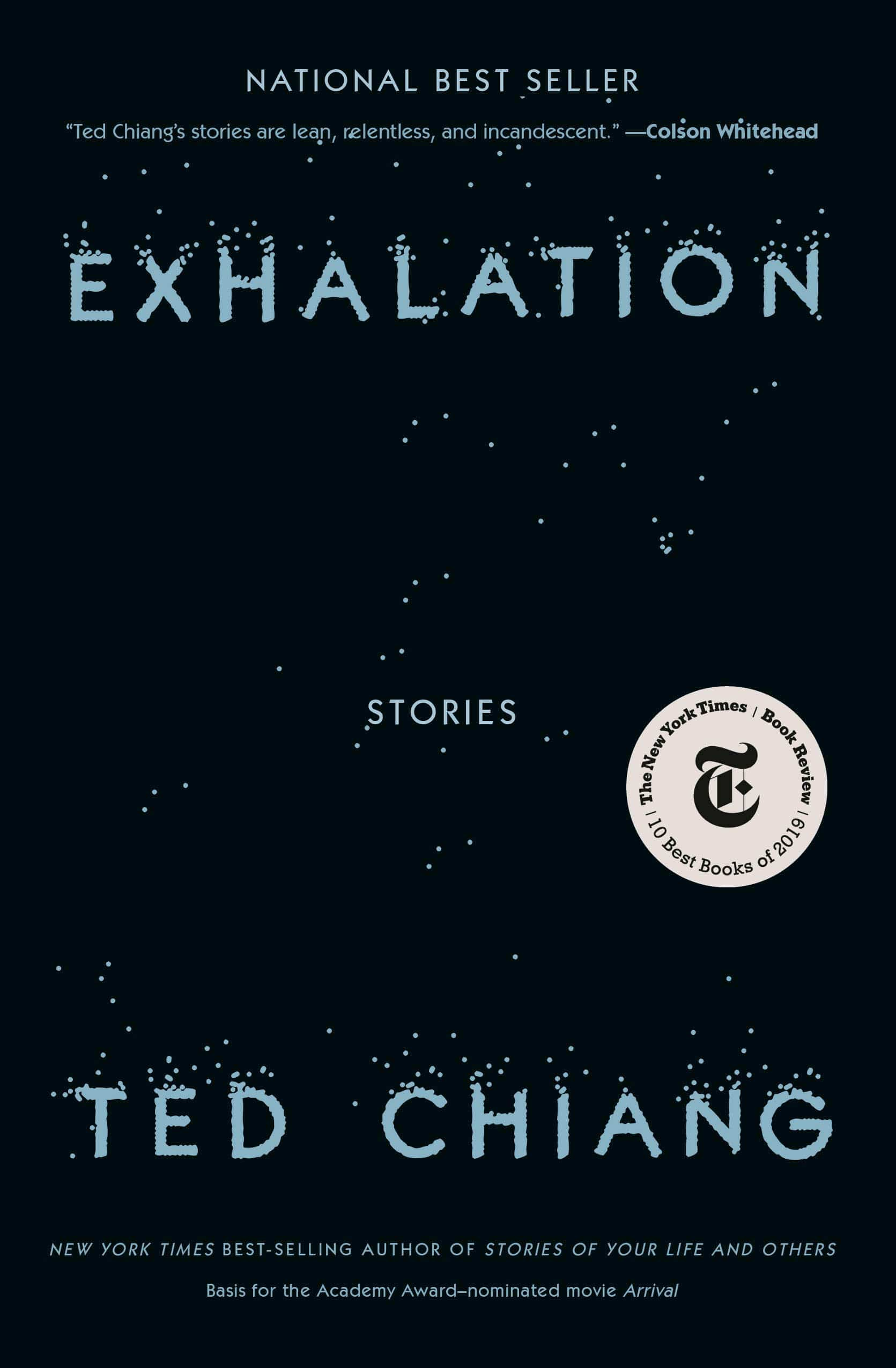 The cover of Exhalation