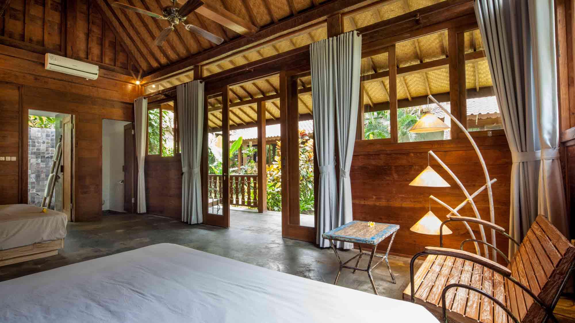 Barong room at Eat Sleep Skate Bali