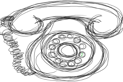 Telephone Sketch
