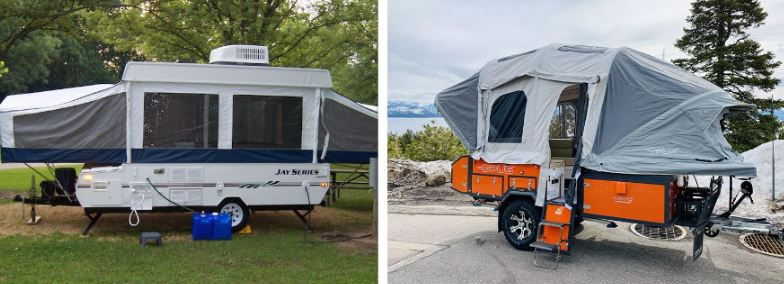lightweight pop up campers