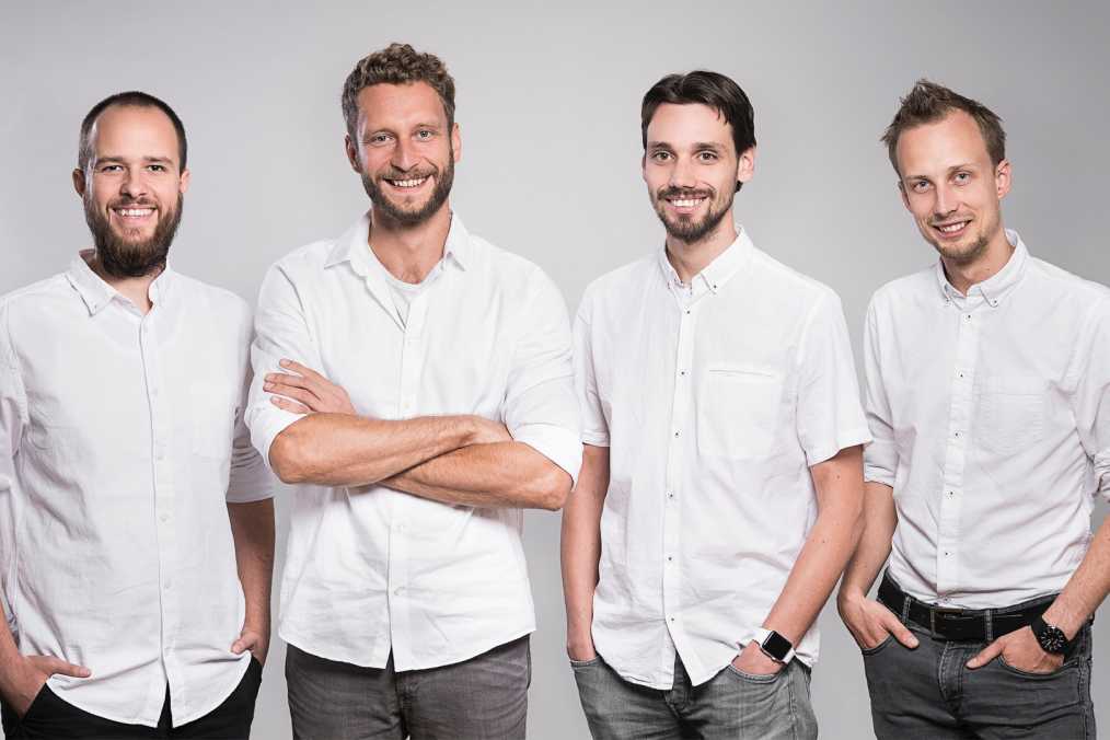 The four founders of Userbrain