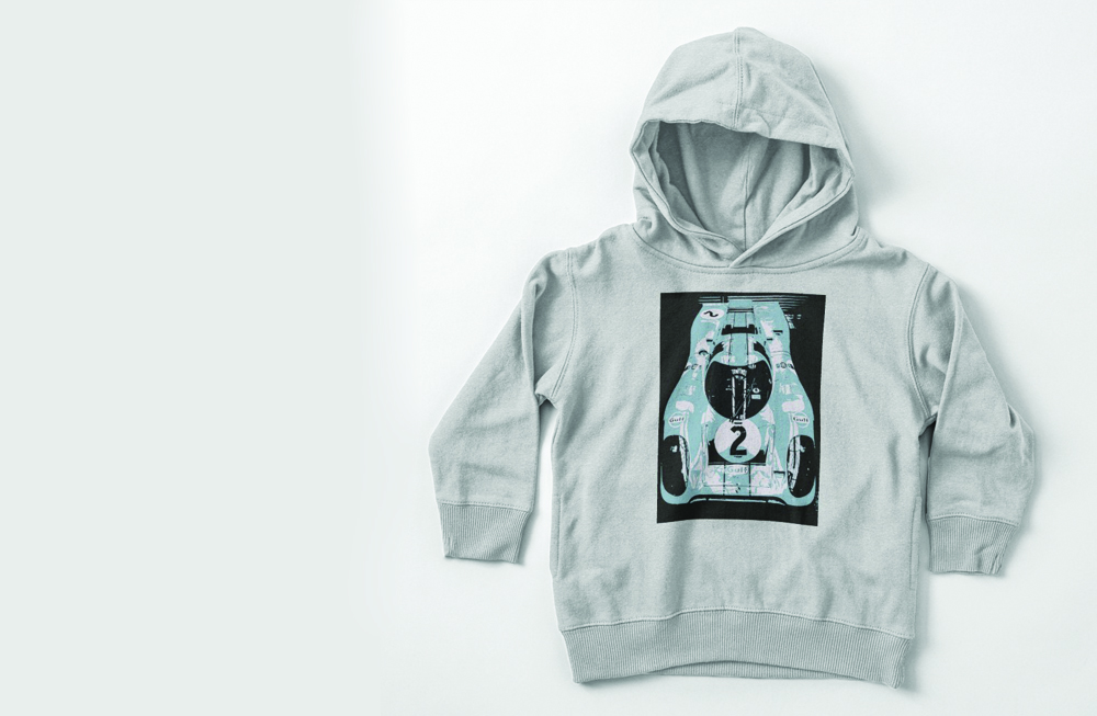 Porsche 917K Toddler Pullover Hoodies by thespeedart