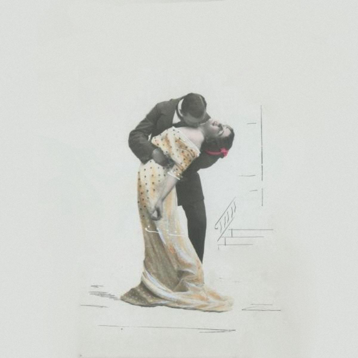 «Танго», неизвестный автор. Дата съемки: 1910-е годы. Фото: russiainphoto.ru