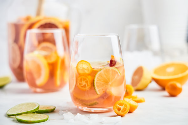 Citrus Rose Sangria
