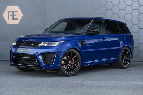 Land Rover Range Rover Sport SVR 5.0 V8 SC ESTORIL BLUE