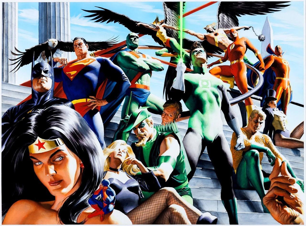 liga da justiça torre de babel em imagem da HQ Liga da Justiça: Torre de Babel