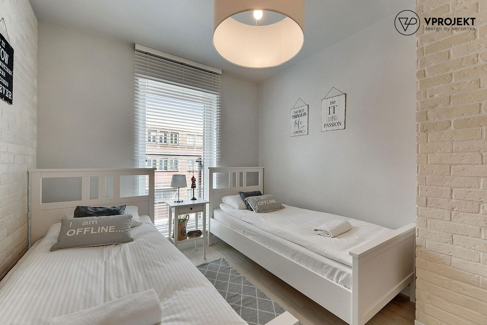 Sypialnia, mieszkanie do wynajęcia w Gdańsku