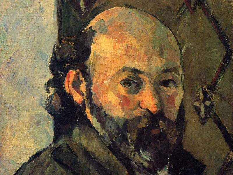 Paul Cezanne's Self Portrait, produced in 1880/1