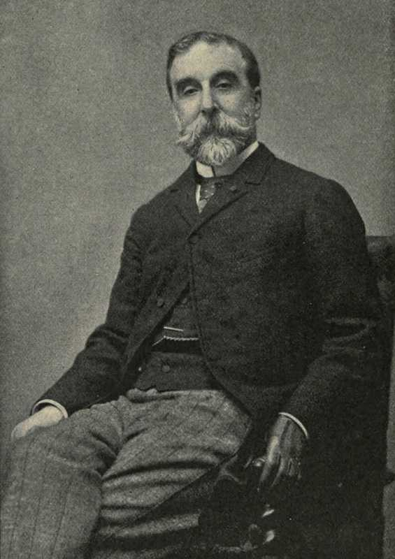 Portrait of French writer Ludovic Halevy later in his career, friend of Degas