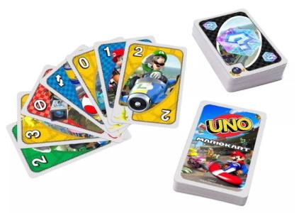Mario Kart Uno Card Images