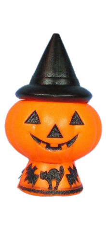 Witch Hat Pumpkin Lamp photo