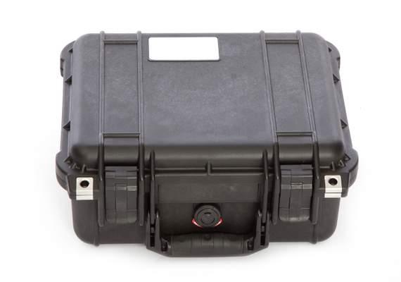 Monitored alarm shock proof case