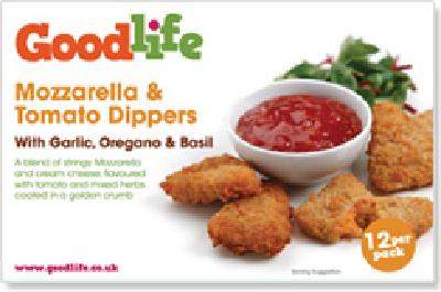 Tomato and Mozzarella dippers