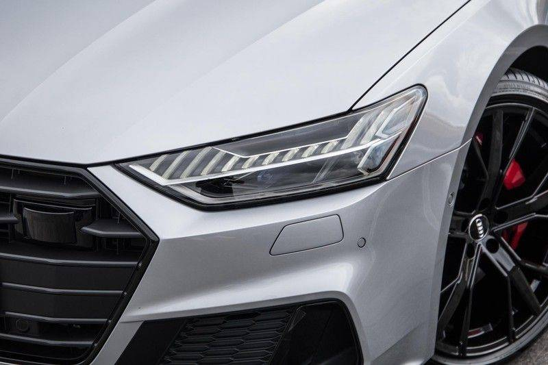Audi A7 Sportback 55 TFSI e quattro Competition 376 PK   21'' velgen zwart   Assistentiepakket Tour & City   360* Camera   Head-Up   Matrix LED   Adapt. Demping   Comfortstoelen   Leder afbeelding 3