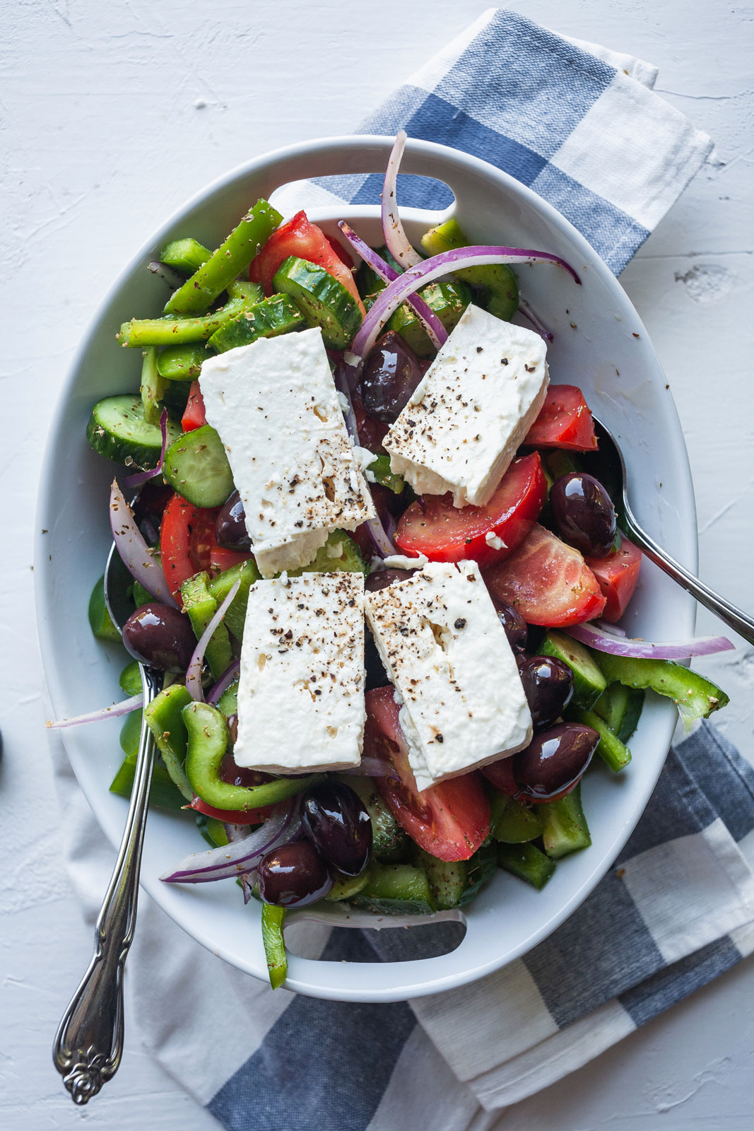 Classic Greek Village Salad