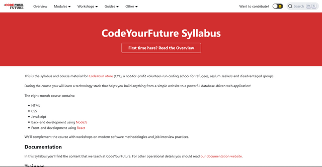CodeYourFuture