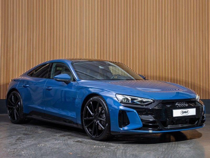 "Audi e-tron GT B&O,HUD,PANO,22"" afbeelding 4"
