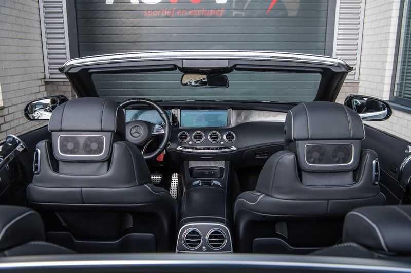Mercedes-Benz S-Klasse Cabrio 500 , 456 PK, AMG/In/Exterieur, Swarovski, Head/Up, Airscarf, 29DKM, NIEUW!! afbeelding 11