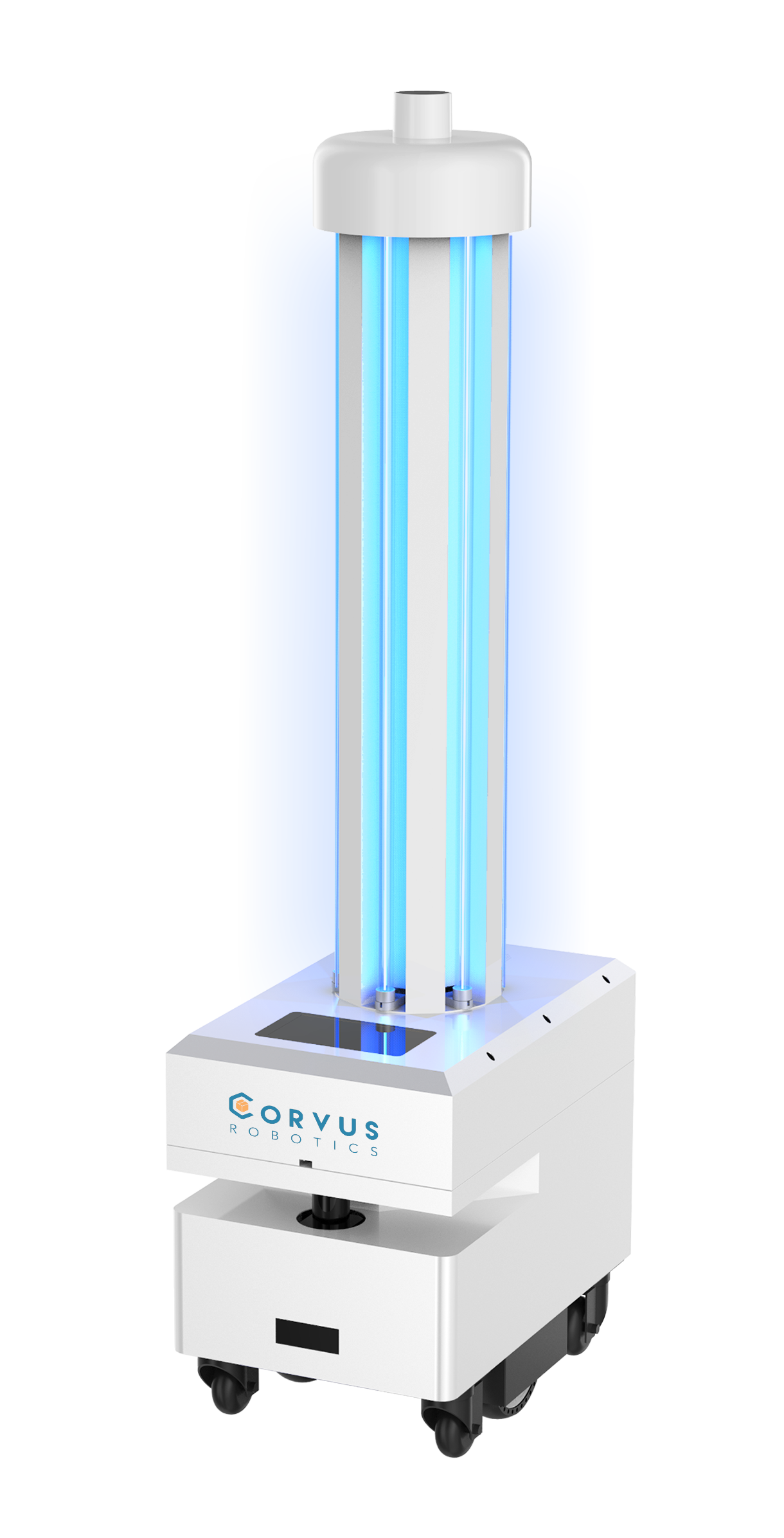UV-C disinfection robot