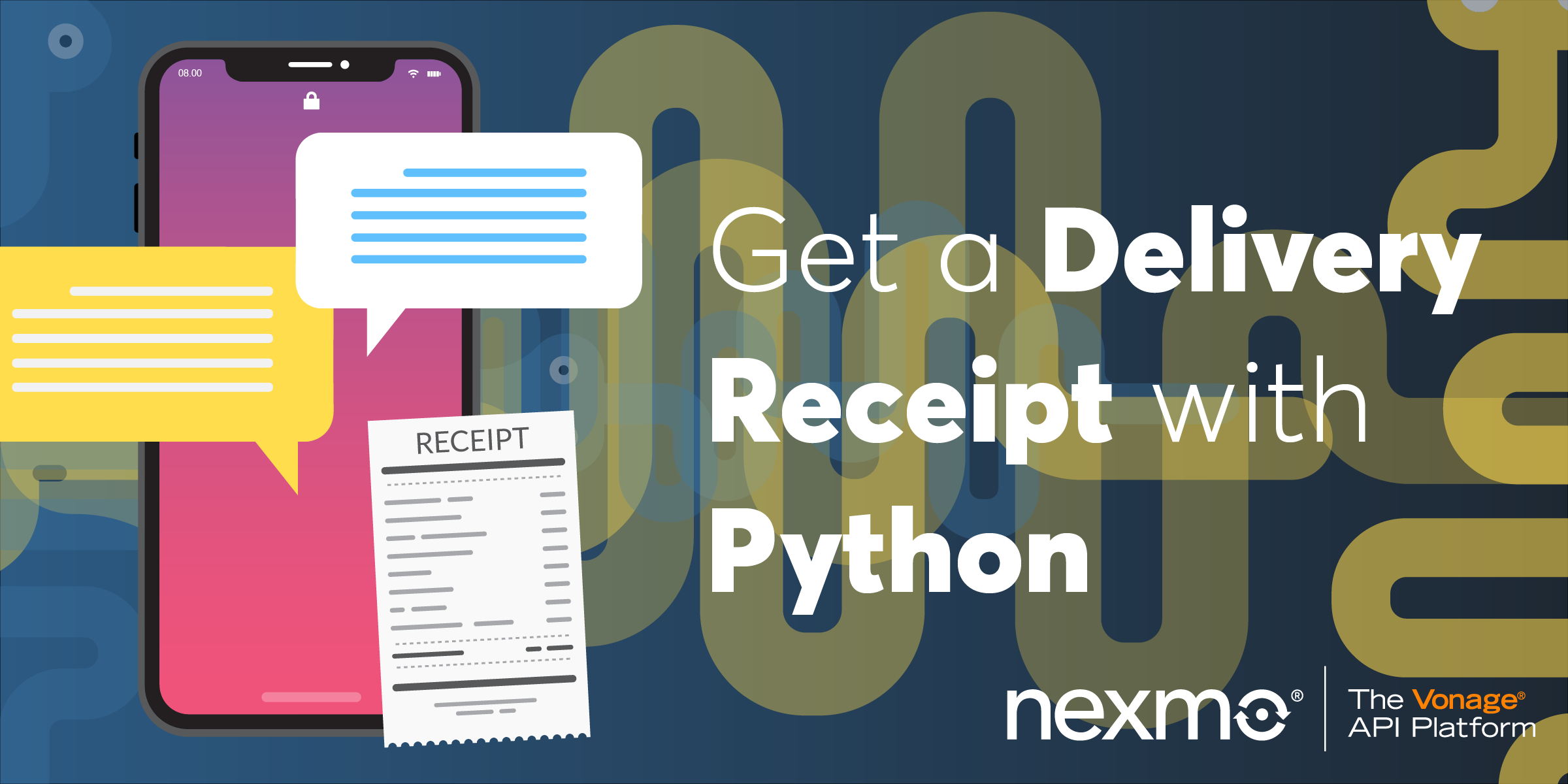 Receiving SMS Delivery Receipts with Python