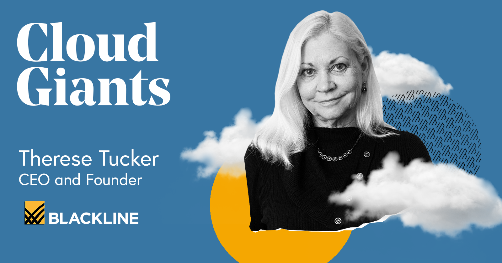 Therese Tucker, CEO of Blackline on Cloud Giants