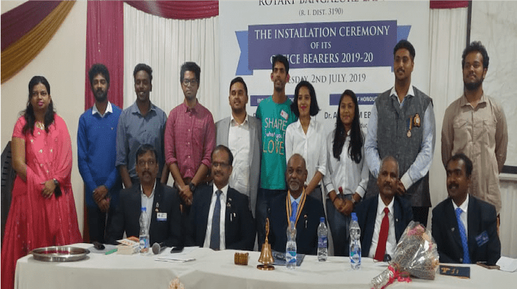 49th Installation of Rotary Bangalore East