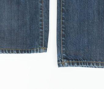Ourlets de jean classique