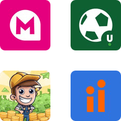 A selection of app icons