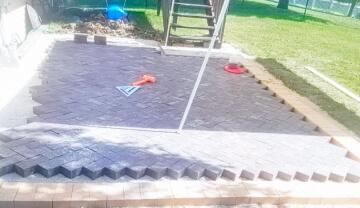 Potwin Construction patio construction