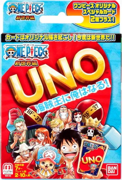 One Piece: The New World Uno