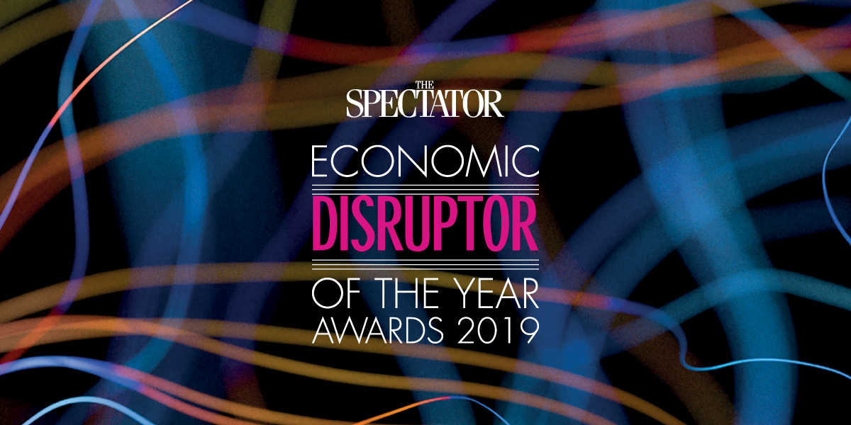 WRLD selected as finalist for 2019 Spectator Economic Disruptor of the Year Awards