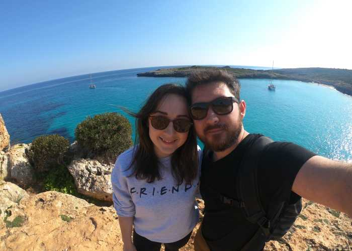 Melissa & Pablo, founder mallorcasecrets.blog